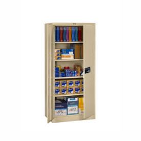 "Storage Cabinet with Keypad Lock 78""H x 24""D, B34290"