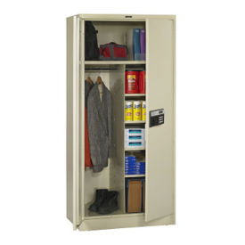 "Keypad Lock Wardrobe and Storage Cabinet - 78"" H, B34417"