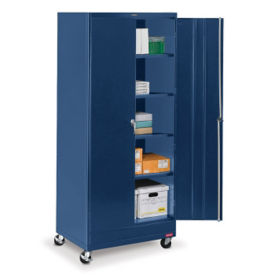 "Mobile Combination Storage Cabinet - 36""W x 24""D x 85""H , B34710"