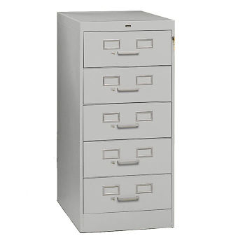 Five Drawer Card File 19w B34755
