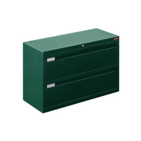 "Two Drawer Lateral File with Counterweight - 42""W, L40728"