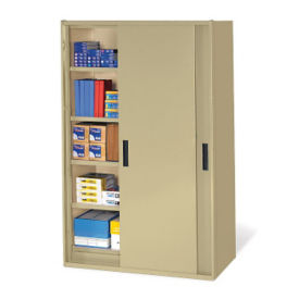 "78"" Sliding Door Storage Cabinet, B32153"