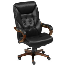 Big and Tall Genuine Leather Executive Chair, C80303