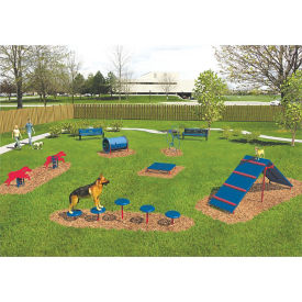 BarkPark Six Piece Intermediate Dog Park Set, F10406
