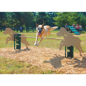 BarkPark Rover Jump Over Dog Park Exercise Bar, F10410