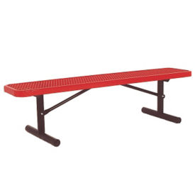 Portable 6' Bench without Back, F10148