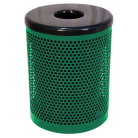 Perforated Steel 32 Gallon Waste Receptacle, F10149