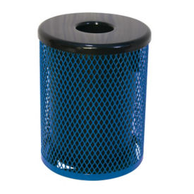 Diamond Pattern 32 Gallon Waste Receptacle, F10151
