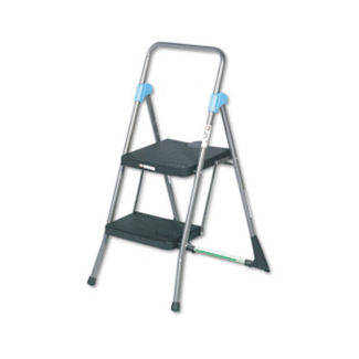 Commercial 2 Step Stool 300 lb Capacity, V21245
