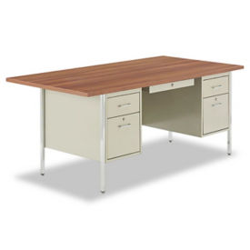 "Double Pedestal Desk 72"" x 36"", D35075"