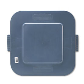 Lid for Square 28 Gallon Trash Bin, R20207