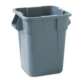 Square Trash Container 40 Gallon, R20208