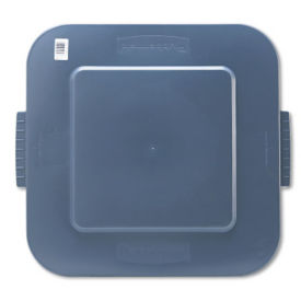 Lid for Square 40 Gallon Trash Bin, R20209