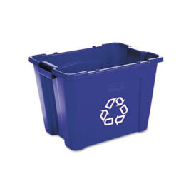 14 Gallon Stacking Recycling Bin, R20060