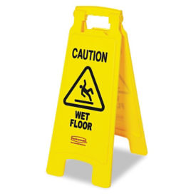 Caution Wet Floor Folding Sign, V21326
