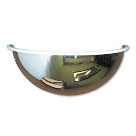 "Half Dome Security Mirror - 18"" Diameter, V21381"