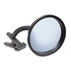 "Portable Security Mirror - 7"" Dia, V21384"