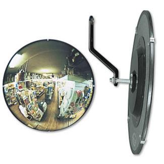 """Round Convex Security Mirror - 26"""" Diameter, V21390"""