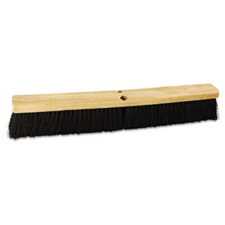 "Broom Head with Polypropylene Bristles 24""W - Carton of Three, V21765"