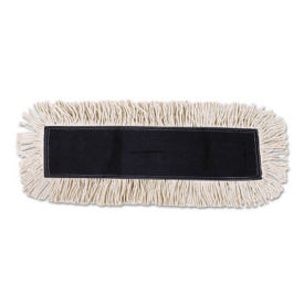 "Disposable Dust Mop Head 24"" x 5"" - Carton of Six, V21774"