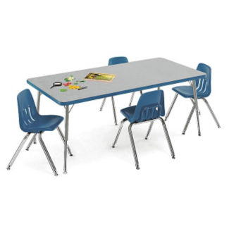 "Child-Height Activity Table 48"" x 30"", A10988"