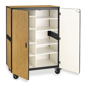 "Mobile Storage Cabinet - 66""H, B30522"