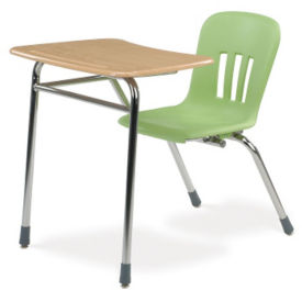 Hard Plastic Top Combo Desk, J10014