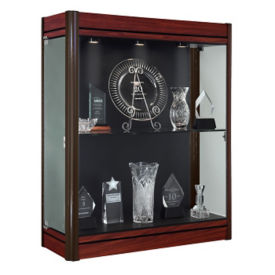 "Contempo Wall Mount Display Case 36""W, B30486"