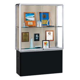 "Two Shelf Lockable Display Case - 72"" H, B34500"