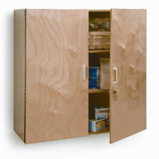 Lockable Wall Cabinet, B30523