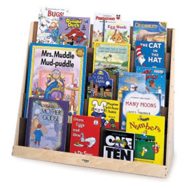 Single-Sided Book Display Stand, P30269