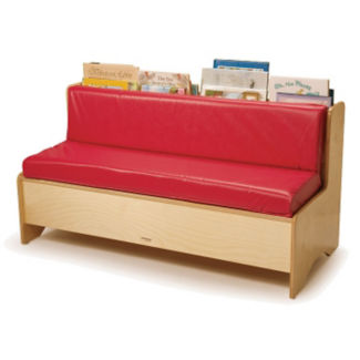 Single Sided Reading Couch with Storage, P30342