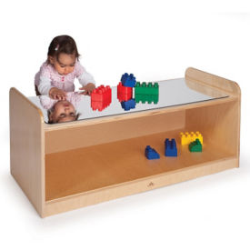 Play Table with Mirror Top, V21569