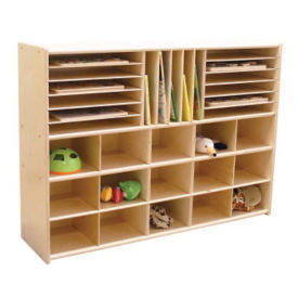 Multi-Cubby Storage Unit, B34469