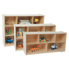 "Cubbie Storage Cabinet 48"" Wide x 15"" Deep x 24"" High, P30092"