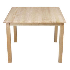 "24"" Square Table 18"" Legs, T11050"
