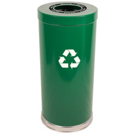 24-Gallon Round Top Recycling Container, F10156