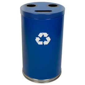 33-Gallon Combination Recycling Container, F10157