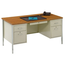 Double Pedestal Desk, D11018