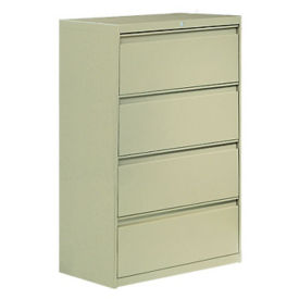 "4 Drawer Lateral File 36"" Wide, L40333"