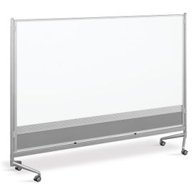 Whiteboard/Whiteboard Mobile Partition 8' x 6', B23192