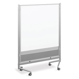 Whiteboard/Cork Board Mobile Partition 4' x 6', B23194