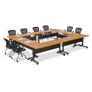 Square Flip Top Table Set, C90053