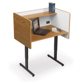 Study Carrel Adjustable Height, E10117