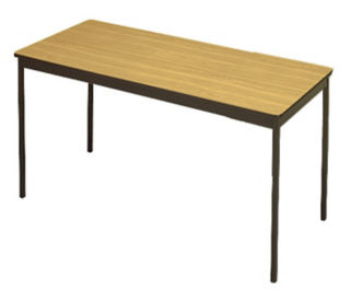 "Utility Table - 18"" x 60"", D41322"