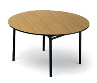 Folding Round Utility Table 60' Diameter, T10476