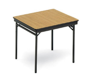 "Folding Utility Table 36"" Square, T10477"