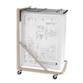 Rolling Large Format Document Stand, B30610