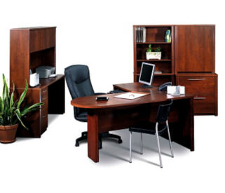 Peninsula L Desk Office Set, D60194