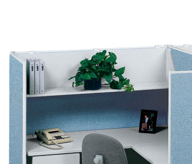 "48""W Open Hanging Steel Shelf, F41201"